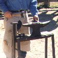 anvil shoeing