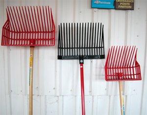 mucking tools